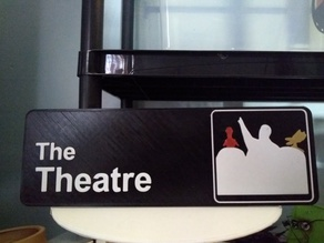 MST3K The Office sign for The Theatre MultiPrint