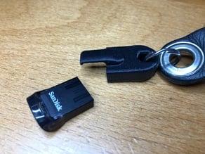 SanDisk Ultra Fit USB-Stick Keyholder