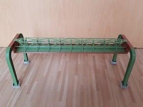 Wuppertaler Schwebebahn Gerüst H0 1:87 / Monorail scaffolding