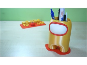 Among Us Pen Holder - Remix from WalRit design