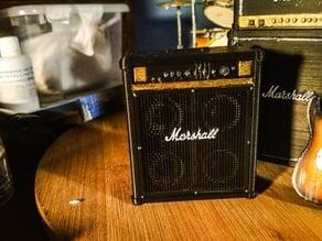 Miniature Marshall Bass Amp