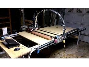 Artisan 3: Beefy edition - 4'x(Any Length) 3d printed CNC