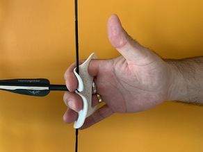 Archery finger tab guard