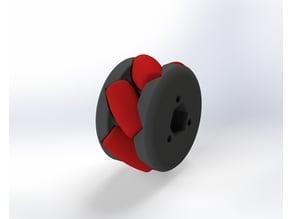 Mecanum Wheel A-B (2 in / 50 mm)