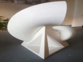 Base for fibonacci shell