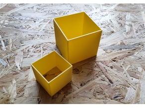 Kinetic sand cube shapes (40x40,60x60)