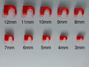 Nail-in Cable Clip [3-12mm Assortment]
