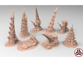tyty tyran tyranid 40k starship trooper notable small terrain remix Part 3