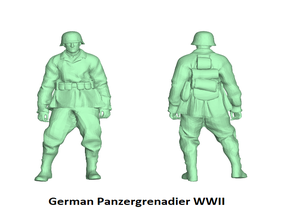 German Panzergrenadier figures - WWII
