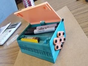 Pencil Box / Pencil Tray / Art Bin