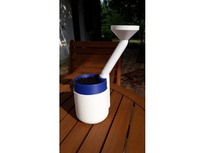 Deported funnel for Self Watering Planter by parallelgoods