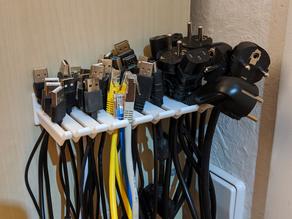Multi Cable Holder - Customizable