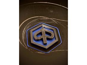 Piaggio APE 50 TL1 - TL6 Firmen Zeichen Front