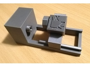 CNC lathe kinematic model
