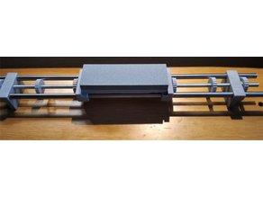 Állítható fenőkő tartó élezőkeret, adjustable sharpening stone holder