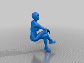 Woman Sitting (no chair)