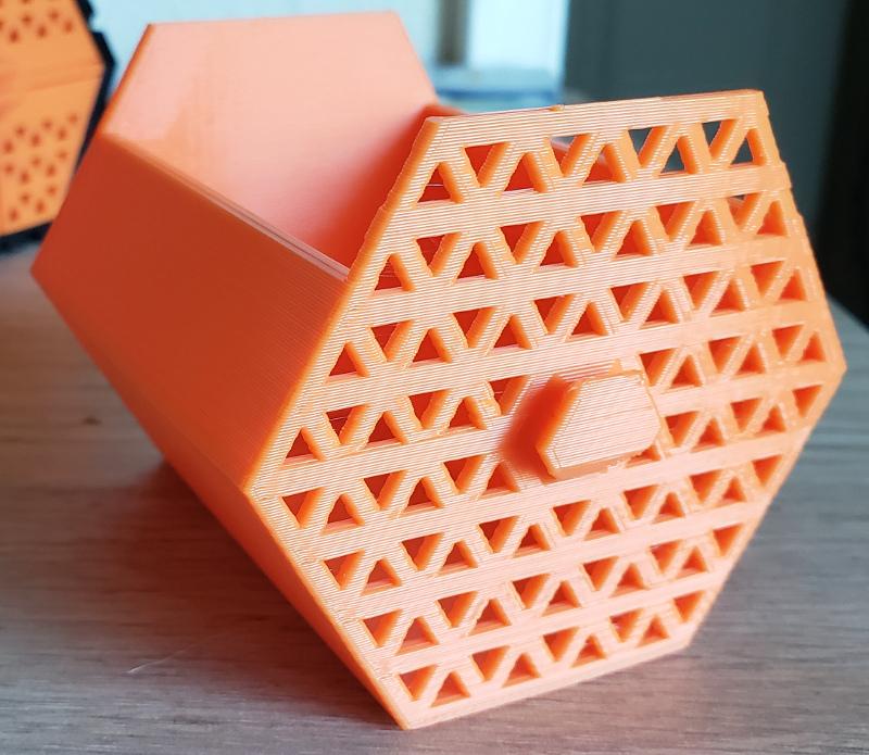 Modular Hex Mesh Drawer