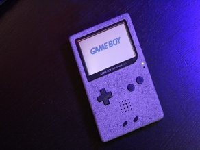 Gameboy Advance SP custom shell