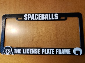 Spaceballs, The License Plate Frame Color Invert