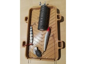 SUP and Kayak fishing tackle and accessories storage table