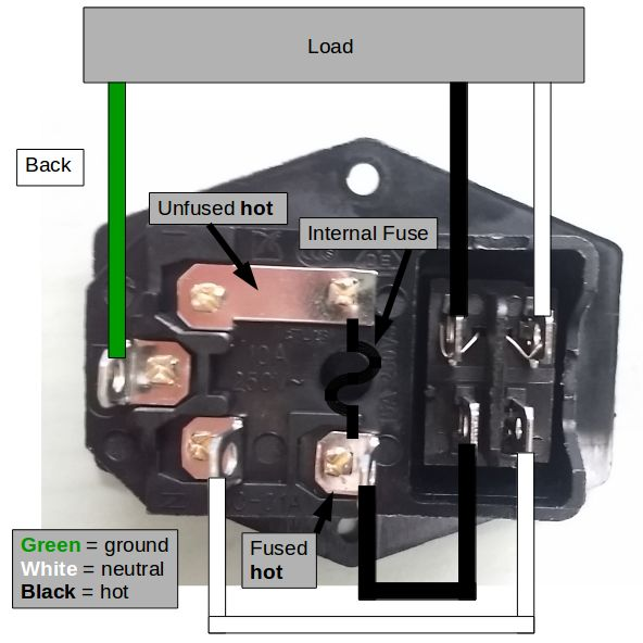[SCHEMATICS_4ER]  Riden RD6006 power Supply Case by Christine86 - Thingiverse | Iec Plug Wiring Diagram |  | Thingiverse