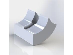 Prusa I3 Hephestos - Adaptador filamento flexible