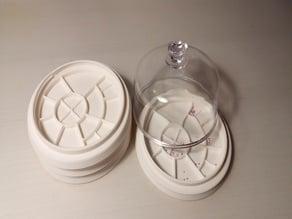 Custom Watchmaker Tray (stackable screw)