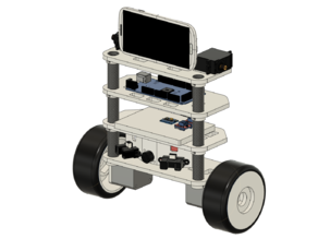Balance Robot (arduMega) V1
