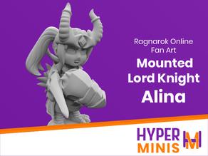 Chibi Mounted Lord Knight Alina