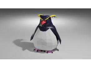Rock Penguin Toy
