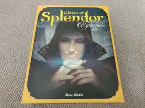 Splendor Insert (Including cities) for sleeved cards