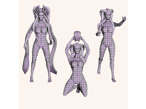 The Woven Coven - Witch One - 28mm Mini PreSupported