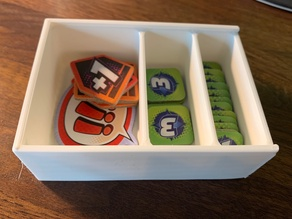 Marvel Champions Token Boxes with Lid