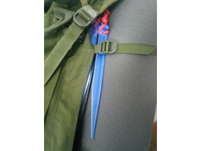 Just another tent peg? 250mm long - 20 gramms