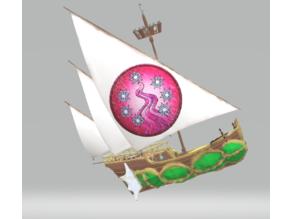 Halruaan Skyship, Light version