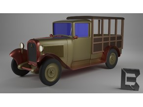 Citroen C4 1930 miniature car