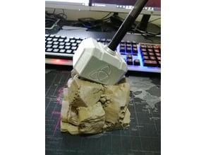 Thor Mjolnir stylus holder