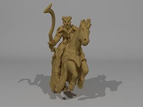 Demonic Horsemen Miniature / Hellequin