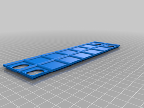 Container Lid (Rasterized and Stackable)