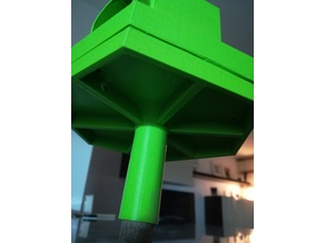 Bird feeder mount / platform / rod