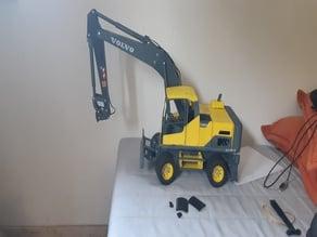 RC volvo ew180d excavator