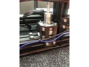 Adjustable Z Stepper mount for 40mm profile