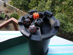 Pipe-Based Dice Tower