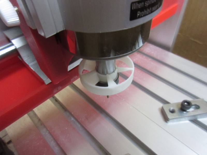 Dust Blower for CNC ER11 Collet(200~500W Spindle)