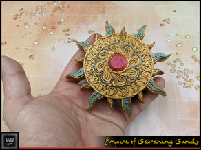 Sun Medallion - RPG Prop