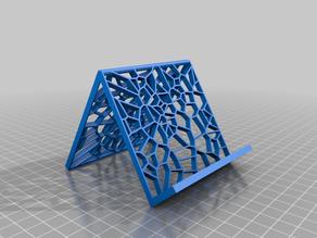 Iphone stand Voronoi Stile