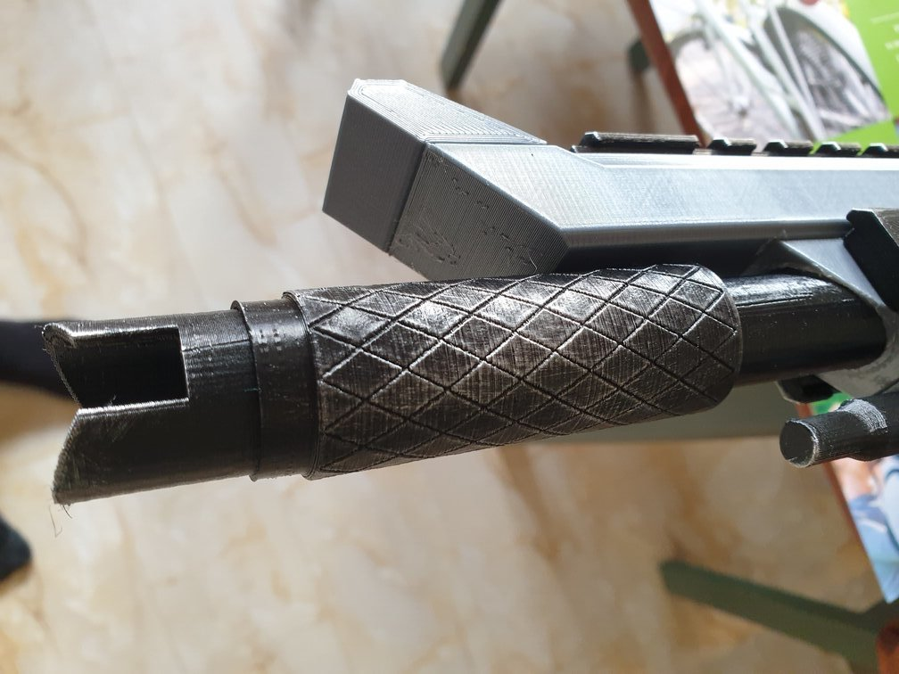 Apex R-301 barrel upgrade