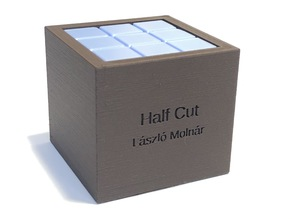 Half Cut - Packing puzzle by László Molnár