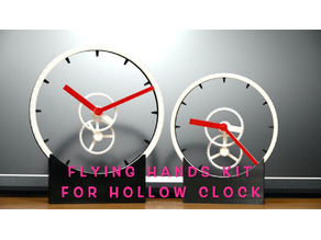 Levitating? Flying hands kit for Hollow Clock