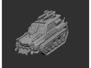 Gaslands/Apocalypse Series 3: Renault Tank Racer